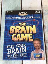 Noel Edmonds: The Brain Game DVD Quiz Game Interactive Multiplayer New Sealed