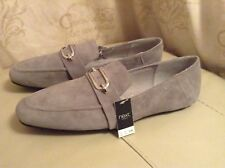 168f6eb3dff New🌹 Next 🌹 Forever Comfort Size 6.5 (40) Luxe Fit Grey Suede Loafers