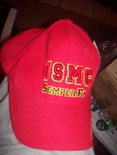 new with tags Marine baseball cap  Hat red