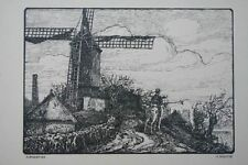P.Scheffer - Flandern 1914 - Ulan