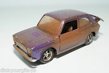 NACORAL FIAT 127 ABARTH METALLIC PURPLE NEAR MINT CONDITION CODE 3 RARE