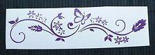 adesivo farfalla fiore decal sticker vinile ritagliato sticker butterfly flowers