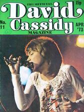 THE OFFICIAL DAVID CASSIDY MAGAZINE - NO 11  APRIL 1973