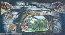 SOLOMON ISLANDS FAUNA MAMMALS BATS MASTER SHEET OF 5