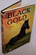 Black Gold-Marguerite Henry 1957 Wesley Dennis HB w/ DJ
