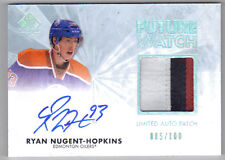 11-12 SP Authentic Ryan Nugent-Hopkins Auto Rookie Card RC Future Watch 085/100