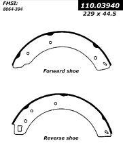 Centric Parts 111.03940 Rear Premium Brake Shoes