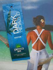 New Emerald Bay Dark N Dazed Sunbed Tanning Accelerator Lotion Sachet 15Ml