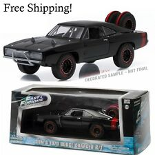 Free Shipping Christmas Gift - Ff7 1970 Dodge Charger R/T Diecast Car 1:43