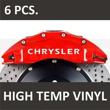 Chrysler Premium Brake Caliper Stickers decals 300C 300M Concorde Crossfire