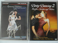 Dirty Dancing 1 + 2 Sammlung Tanzfilm - Kuba, Heiße Nächte, Patrick Swayze, Grey