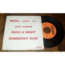 RICKY GORDON - Such A Night French Rock'n'Roll Label Dom 74' PS 7'