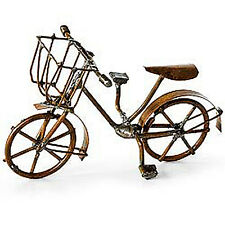 Closeout! Dollhouse Miniature Garden Metal Bicycle Bike, WEATHERED
