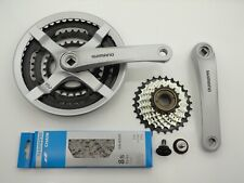 Shimano EFCTY501C888CSB Tourney FC-TY501 Kettenradgarnitur - Silber