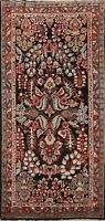 Vintage Vegetable Dye Traditional Handmade Runner Rug Floral Oriental Carpet 4x9
