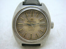 Vintage SWISS RODANIA 17Jewels Manual Women's Watch 50's