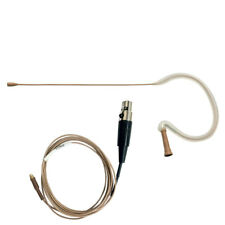 Countryman E6i Omnidirectional Tan Earset for Shure with 2mm Cable