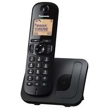NEW Panasonic KX-TGC210 Main Cordless Digital DECT Phone Black