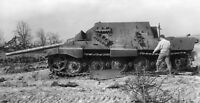"""WWII photo fighter of the tanks """"Yagdtigr"""", blown up by the crew world war 36b"""