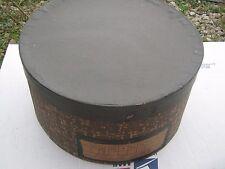 Vintage ??  Round Black Grey Brown ?? Hat Empty Hat Box