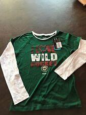 NEW!! Women's  S  Shirt Top Minnesota Wild   NHL Reebok Long Sleeve