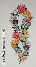 PLAUENER SPITZE ® Fensterbild TULPE Blume SOMMER FRÜHLINGSRANKE Frühling Deko