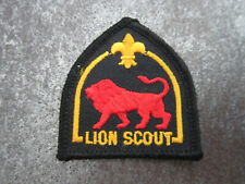 Lion Scout Cloth Patch Badge Boy Scouts Scouting (L21S)
