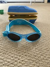 Baby Banz Sunglasses Blue 0-2 With A Case