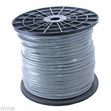 GRAY 500ft foot BULK STEREO balanced and shielded xlr trs audio mic cable wire