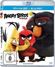 ANGRY BIRDS, Der Film (Blu-ray 3D + Blu-ray Disc) NEU+OVP