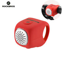 ROCKBROS Cycling Bike Electric Horn 90db Waterproof Bicycle Handlebar Bell Red