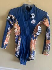 New listing Women's Rip Curl G Bomb Long Sleeve Surfsuit Wetsuit Size 8, Navy with tags