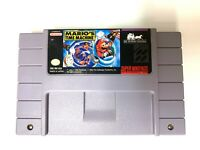 Mario's Time Machine SUPER NINTENDO SNES Game Tested + Working & Authentic!