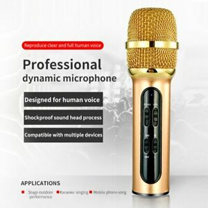 Live Singing Record Microphone Portable Mobilephone Karaoke Condenser Microphone