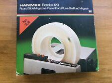 VINTAGE HANIMEX Rondex 120 Round Slide 35mm Magazine with Box