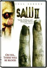 Mint DVD Saw II Full Screen Donnie Wahlberg Beverley Mitchell Franky G, Emmanu
