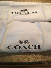 🌺🌹2 New COACH Satin Dust Bag Cover  23''x19''