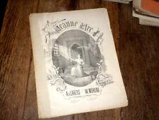 Jeanne d'Arc romance dramatique piano chant 1885 William Moreau Poitiers