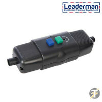 Leaderman LDM16RCDEX2 In-Line Active Outdoor Weatherproof RCD for DIY, gardening