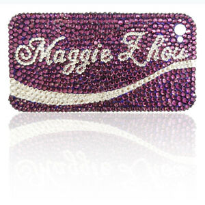 Customized Your Name Bling Phone Case Different Color Choice Personalized Cover