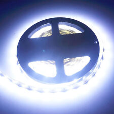 5M 300Leds 5630 SMD Super Bright Cool White LED Strip Light Waterproof 12V DC US