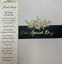 """Gibson True Love Our Special Day Wedding Planner 9"""" x 10.5"""" New, Open Pkg"""
