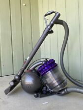 Pre-owned Dyson Cinetic Animal Bagless Canister Vacuum Purple with extra heads