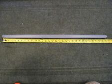 """Frosted Acrylic Tube 1"""" Od - 1/6"""" Wall 31"""" Long"""