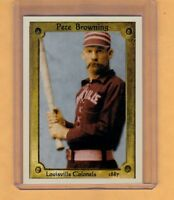 Pete Browning Louisville Colonels, early baseball batting champion Hall of Famer