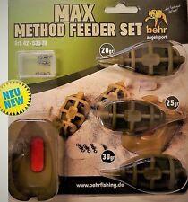 Behr EXC MAX Method Feeder Futterkorb Futterkörbe 20g/25g/30g + Form 4253570