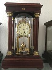 Gustav Becker Empire with pendulum No.29 anniversary clock Jahresuhr