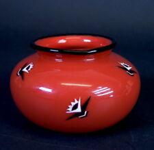 Lötz Tangoglas mit  Art Deco  Bemalung - Helgoland