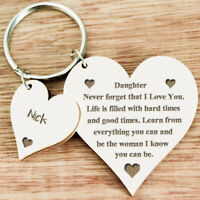 Personalised Gifts For Her Daughter Mum Grandma Auntie Nanny Keyring Presents U8