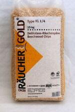 Räucherspäne, Räuchergold, KL1/4, 15kg, Räuchermehl